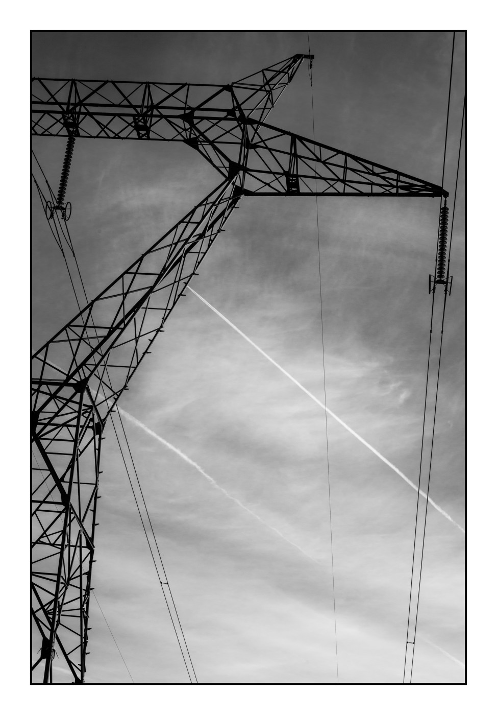 Série ciels de Picardie: lignes