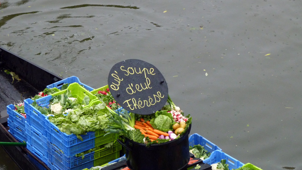 """Fête des hortillonnages. """"Eul' soup d'eul Thérèse"""""""