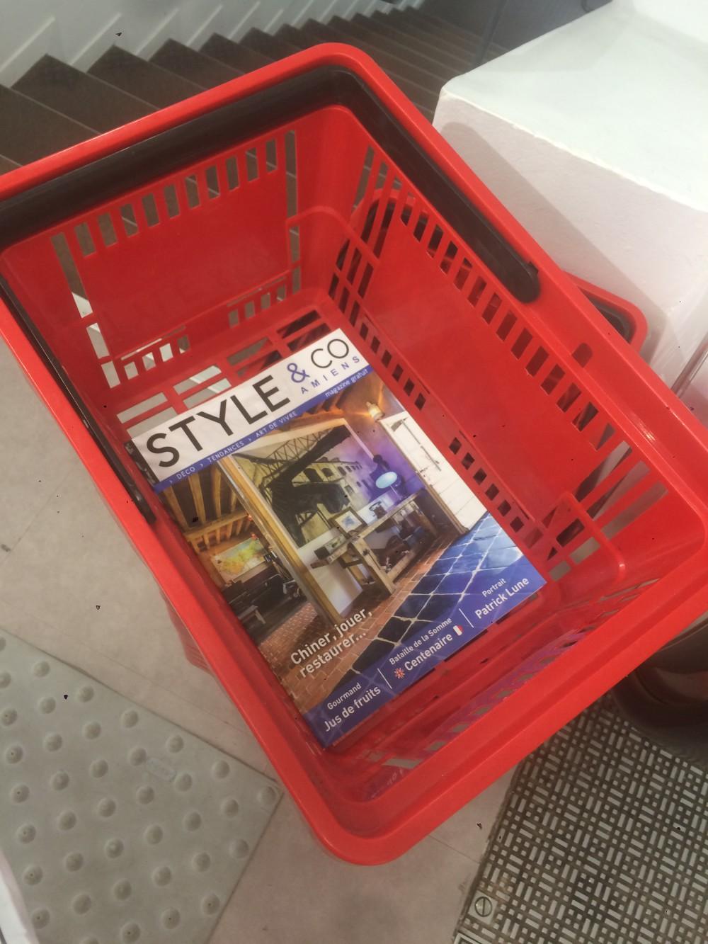 On commence toujours les courses par le nouveau Style & Co !