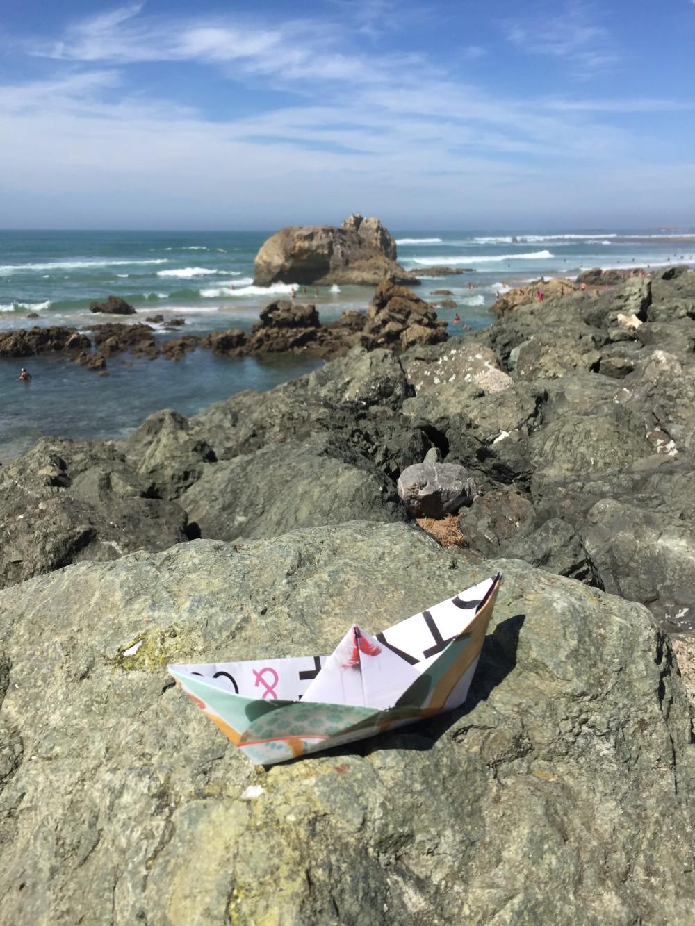Photographie prise pendant les vacances au mois d'Aout 2016 à Biarritz dans le pays basque.