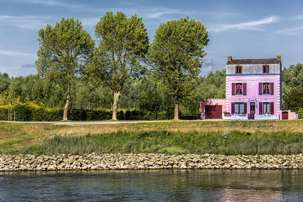 La maison Rose de St Valery