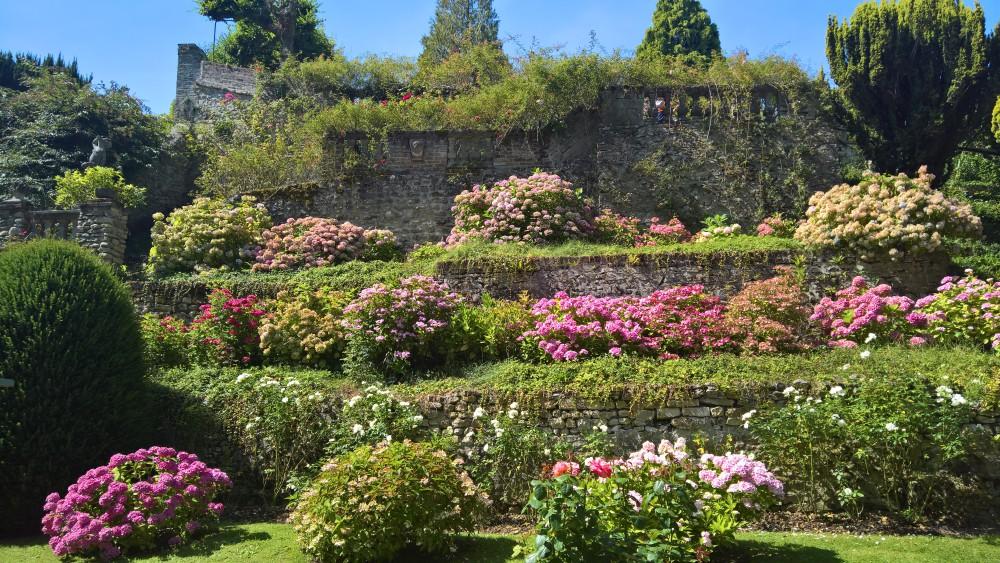 Magnifique jardin Henri Le Sidaner à Gerberoy.