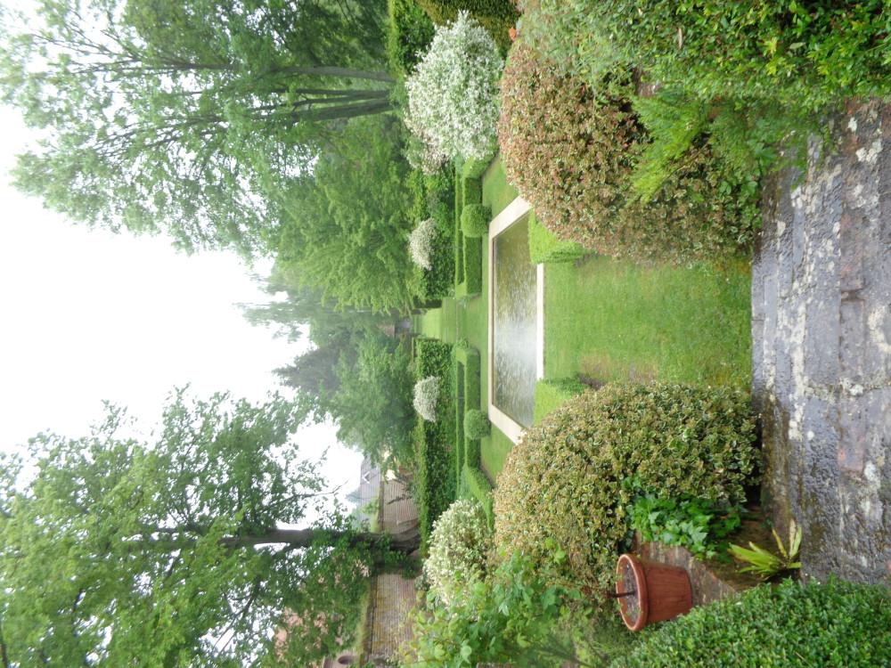 Jardin du château de Creuse