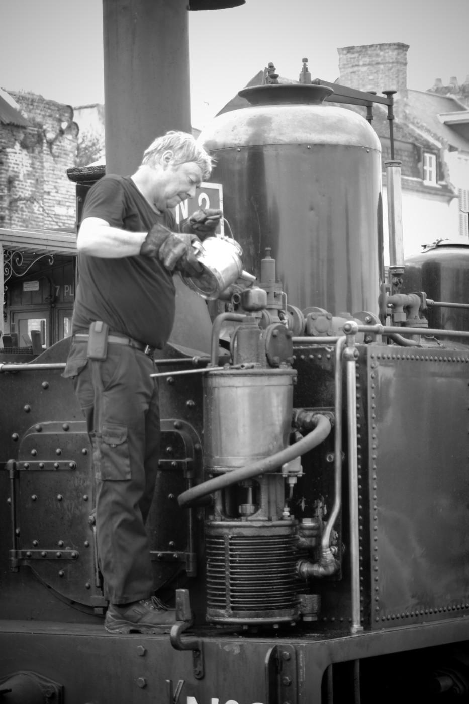 preparation de la machine