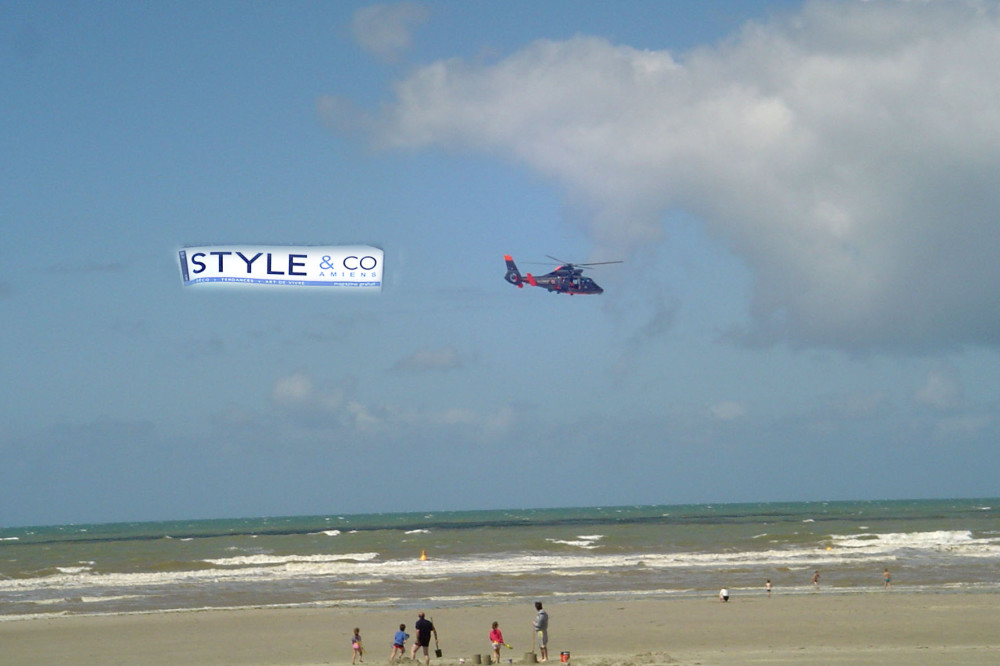 style and co fait sa pub a quend plage